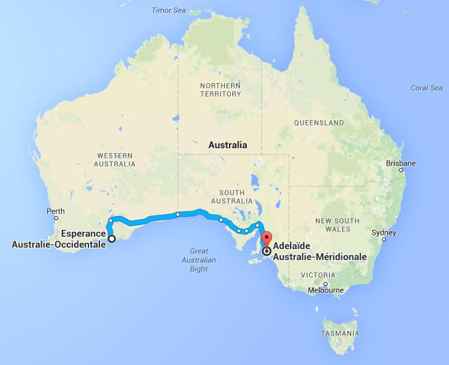 Carte Australie Esperance.Esperance Laurette Et Gege En Australie